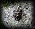 Přívěsek Vlk Yukon - bronz