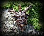 Pendant Cernunnos Gehörnte - bronze