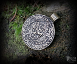 Pendant Odin and Sleipnir Bracteate - bronze