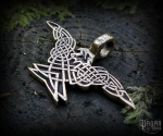 Pendant Celtic eagle Árcon - bronze