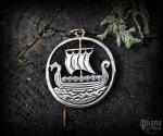 Přívěsek Vikingská loď Svold - bronz