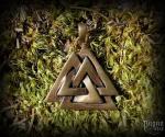 Přívěsek Valknut Wuotan - bronz