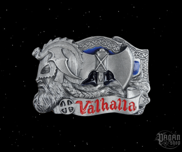 Belt buckle Valhalla
