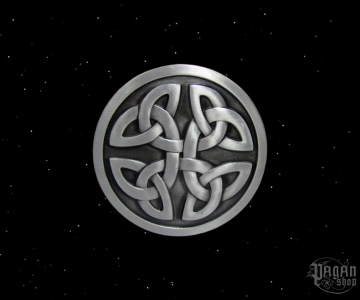 Belt buckle Celtic knot Duncan