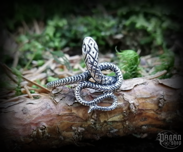 Ring Snake Iduna - 925 sterling silver
