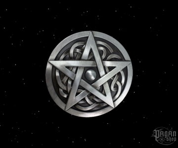 Belt buckle Pentagram Moran