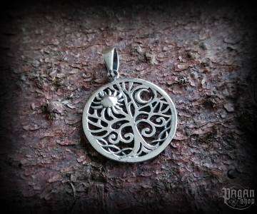 Pendant Tree of life Aline - 925 sterling silver