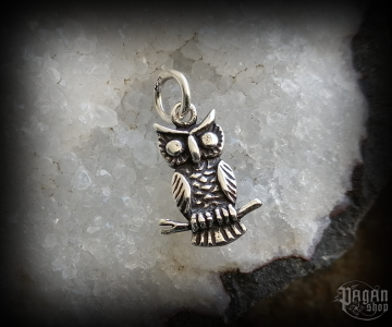 Pendant Owl Miri - 925 sterling silver