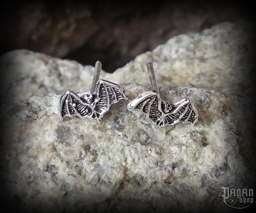 Stud earrings Bat Svanti - 925 sterling silver