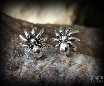 Stud earrings Spider Arana - 925 sterling silver