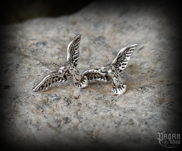Stud earrings Eagle Talin - 925 sterling silver