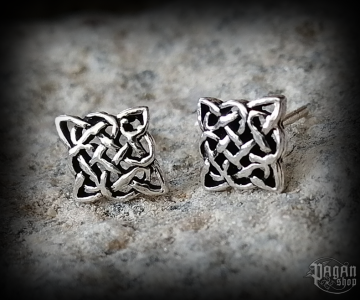 Stud earrings Celtic Arona - 925 sterling silver