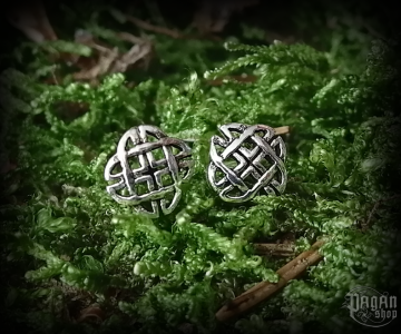 Stud earrings Celtic Sheena - 925 sterling silver