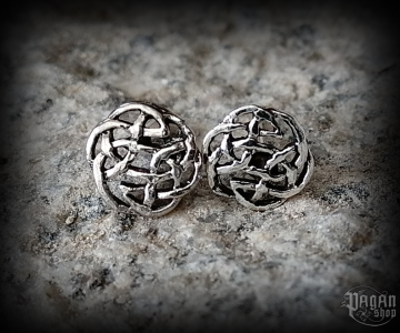 Stud earrings Celtic Nuri - 925 sterling silver