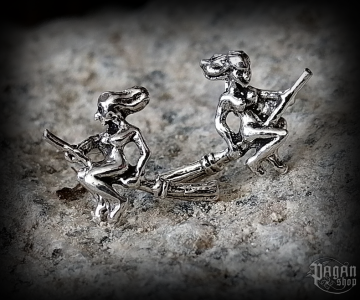 Stud earrings Witch Zuli - 925 sterling silver