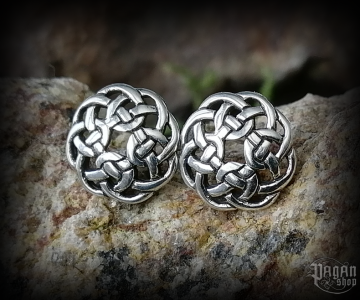 Stud earrings Celtic Ceit - 925 sterling silver