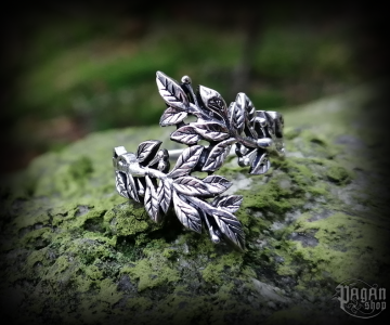Ring Betel leaves Daphne - 925 sterling silver