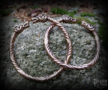 Bracelet Geri and Freki - bronze
