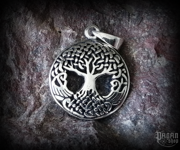 Pendant Tree of life Yggrliten - 925 sterling silver