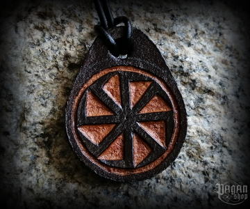 Pendant Kolovrat Darko - leather