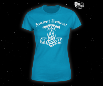 Women's T-shirt Ancient Bequest blue