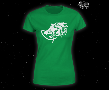 Women's T-shirt Fenrir green