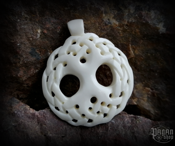 Pendant Tree of life Yggdrasil - bone