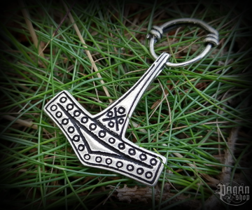 Pendant Thor's hammer Bornholm - 925 sterling silver