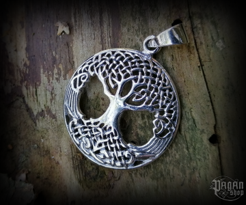 Pendant Tree of life Yggdrasil - 925 sterling silver