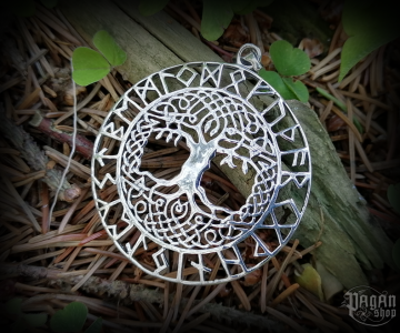 Pendant Tree of life Baruna - 925 sterling silver