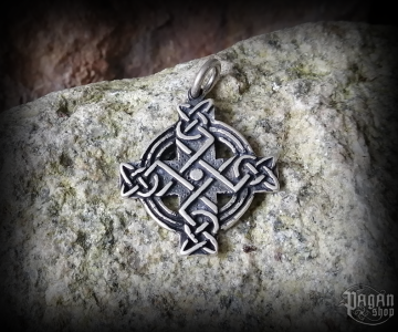 Pendant Celtic cross Adair - 925 sterling silver