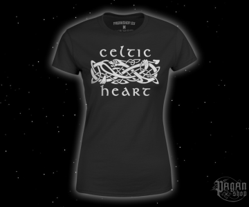Women's T-shirt Celtic heart