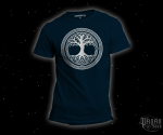 T-shirt Tree of life dark blue