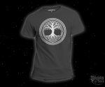 T-shirt Tree of life grey